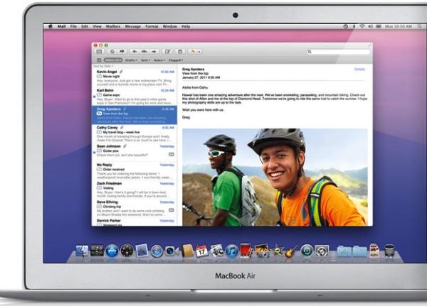 Mail traerá mejoras con la llegada de OS X Mountain Lion