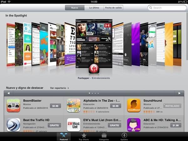 App Store para iPad es la tienda online de aplicaciones más grande