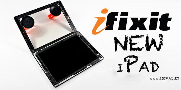 iFixit nos muestra la completo el nuevo iPad en su interior