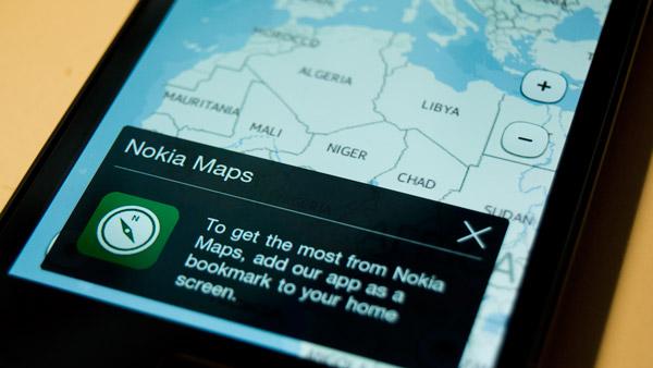 Nokia Maps para iOS