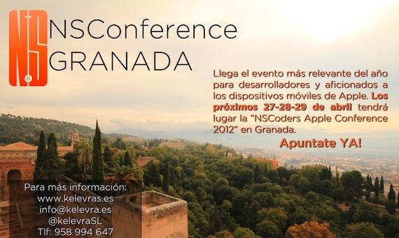 NSCoders Apple Conference 2012 en Granada