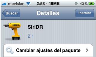 SiriDR habla español