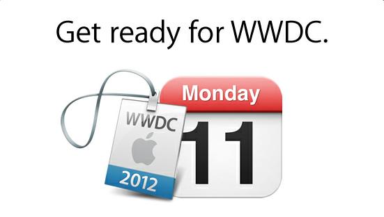 Programa de la WWDC 2012 publicado por Apple