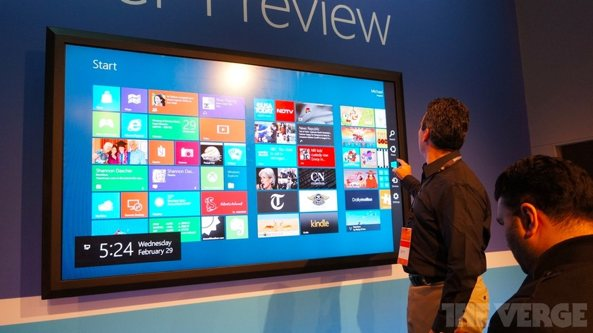 Windows-8-Consumer-Preview-on-82-inch-display