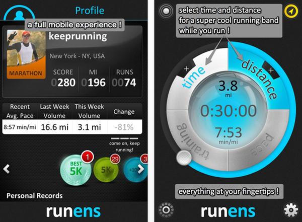 Runens, running is social (GPS)