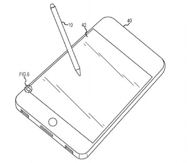 ¿Esta Apple construyendo un lápiz óptico para sus dispositivos táctiles?