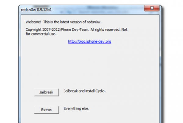 Jailbreak untethered de iOS 5.1.1 usando Redsn0w 0.9.12b1