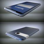 Facebook Phone del diseñador Michal Bonikowski frontal, trasera