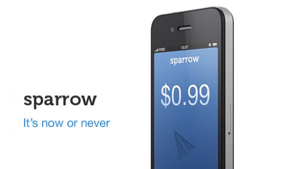 Sparrow en oferta durante 2 días, hoy a 0,79€
