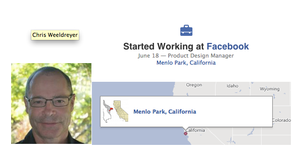 Facebook contrata a Chris Weeldreyer ex-gerente de Apple, diseño iOS