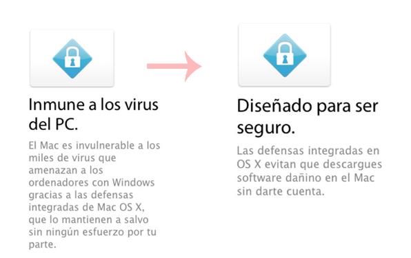 política en cuanto a los virus OS X, antes y ahora