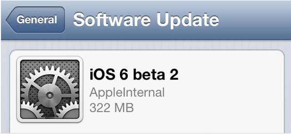 Enlaces de Descarga de iOS 6 Beta 2