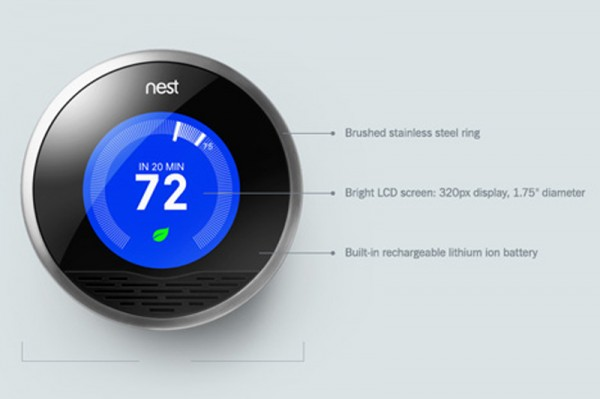 termostato inteligente Nest