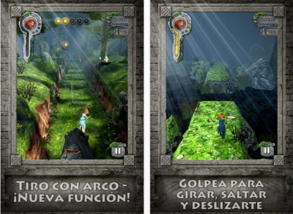 Temple Run Brave ahora disponible en la App Store