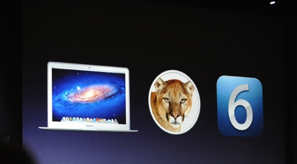 Mountain Lion, Mac Retina, iOS 6