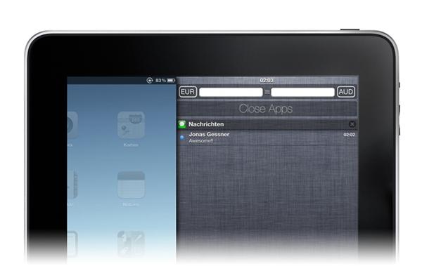 MountainCenter, centro de notificaciones en iOS solo para dispositivos con jailbreak