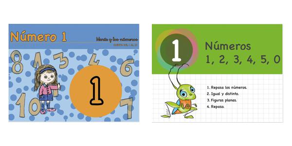iBooks María y los números, Matemáticas 1º primaria
