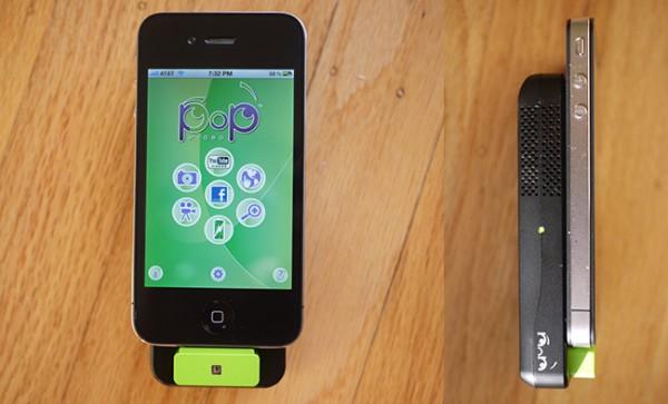 Pop video, un picoproyector para iPhone, iPod Touch e iPad por menos de 80€