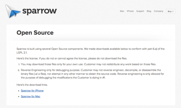Sparrow-OpenSource