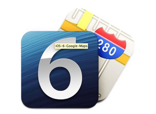 Como seguir usando Google Maps en iOS 6 Beta 2