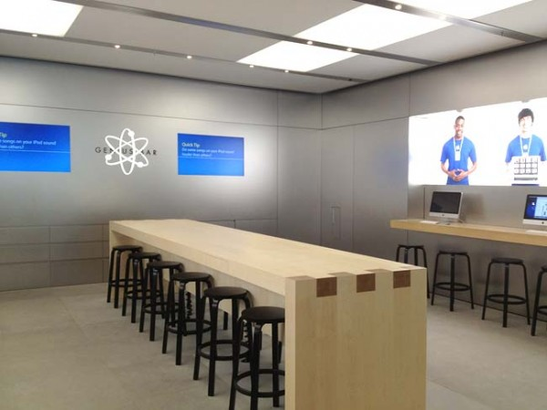 Apple cambia las Genius Bar para aumentar su capacidad