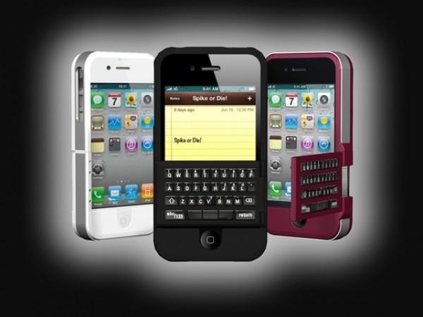 Spike, proyecto de carcasa y teclado mecánico para el iPhone