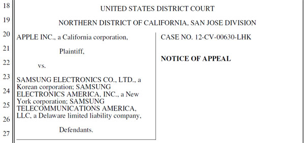 Samsung recurre el bloqueo de ventas en EEUU del Galaxy Nexus