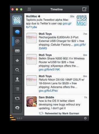 Tapbots Tweetbot Alfa