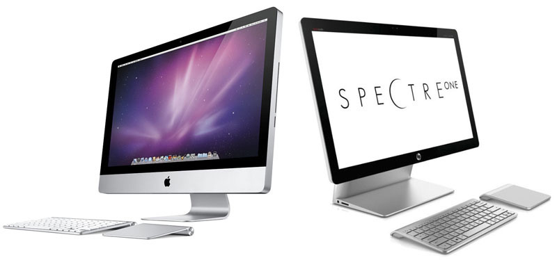 HP copia el iMac con su Spectre One