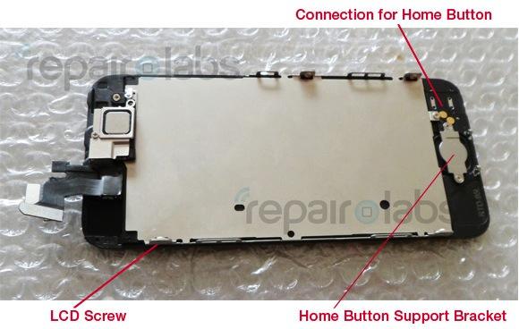 IPhone 5 parece adoptar elementos internos del iPhone 3GS