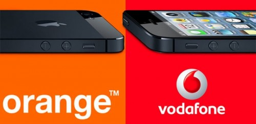 Puntos Orange y Vodafone