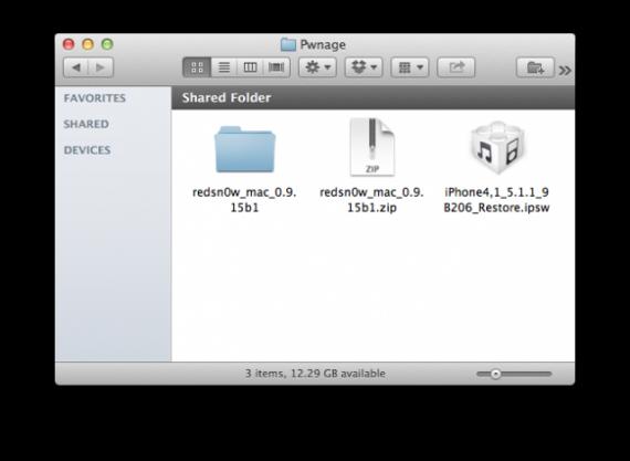 Redsn0w 0.9.15b1, restaurar, firmware, ios 5.x