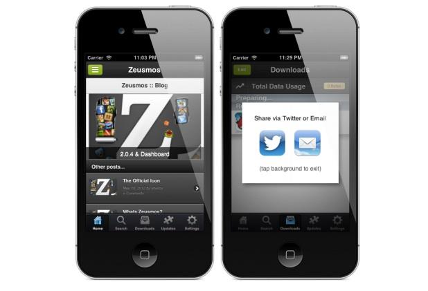 Instalar aplicacione gratis en iPhone con Zeusmos y sin necesidad de jailbreak