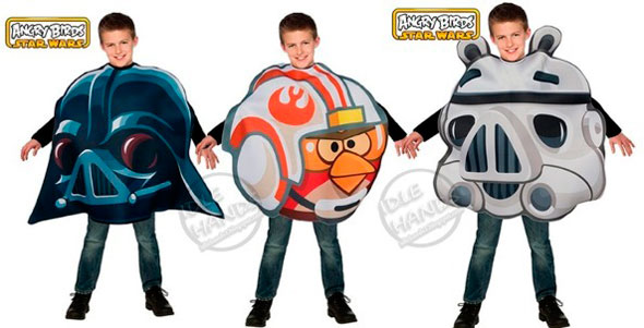 Angry Birds Star Wards disfraces