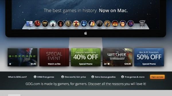 gog.com plataforma OS X