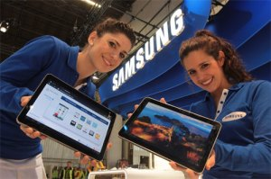 Tab Samsung VS iPad Apple
