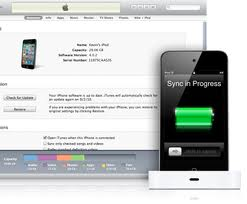 iTunes sincronizar