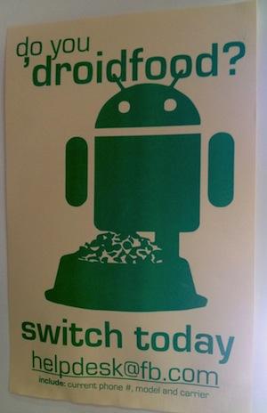Facebook recomienda a sus empleados cambiarse a Android