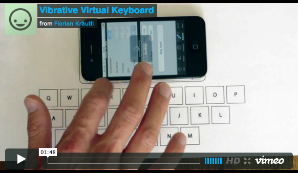 teclado virtual iphone