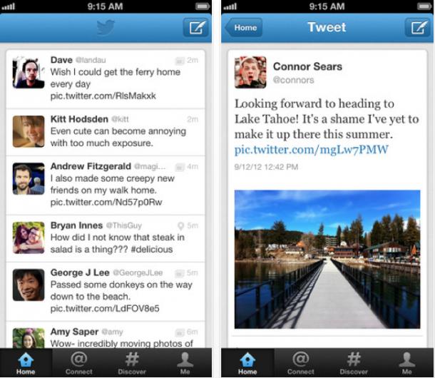 Twitter para iOS