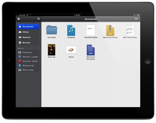 Documents-para-iPad