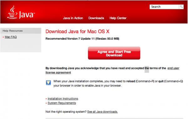 Java 7 Update 11 lanzado por Oracle