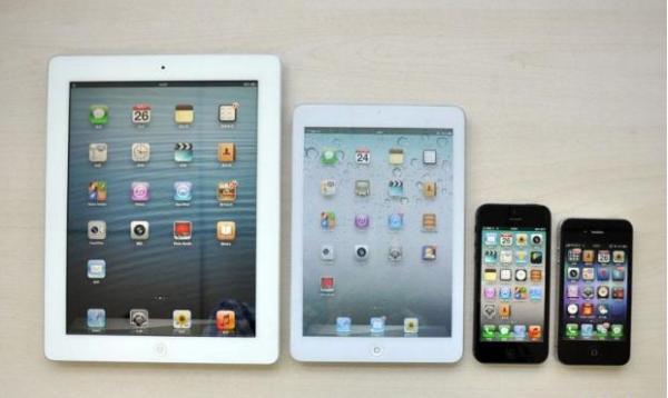 ios 6 presente en casi todos los dispositivos