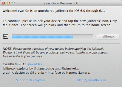 Jailbreak para iPhone 5_