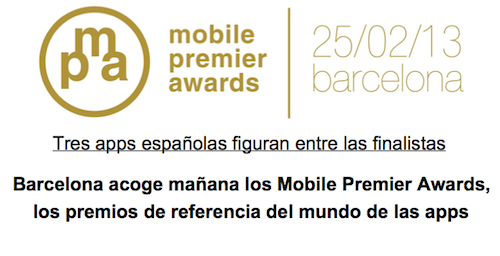 mobile premier awards