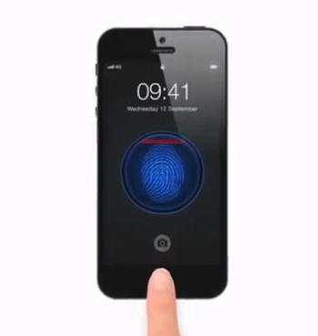 lector-huellas-botón-home-iphone-5S