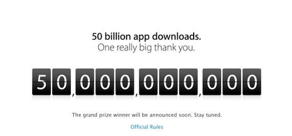50.000 millones de descargas en la App Store