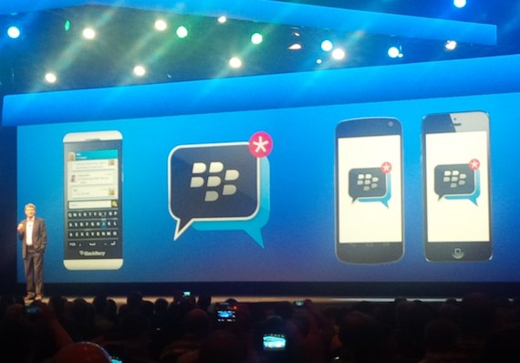 BlackBerry Messenger para iOS