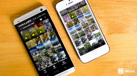 iPhone 5 vs HTC One