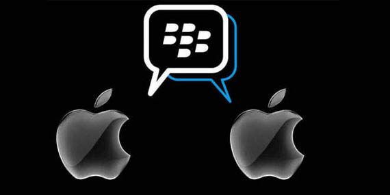 blackberry messenger ios